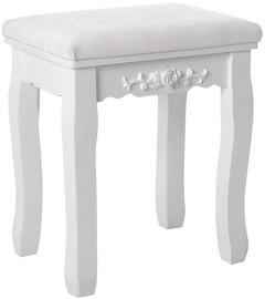 Стул для столовой Songmics White 28x37x45cm