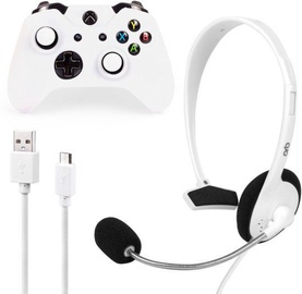 ORB Xbox One S Starter Pack incl. Wired Headset, Skin, Cable, 2 Grip Caps