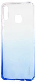 Evelatus Gradient Back Case For Samsung Galaxy A20e Blue