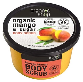 Organic Shop Body Scrub 250ml Kenyan Mango