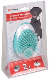 Karlie Flamingo Margo Clean & Massage Brush 2in1