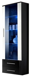 ASM Neo I Display Cabinet Black w/ White Door