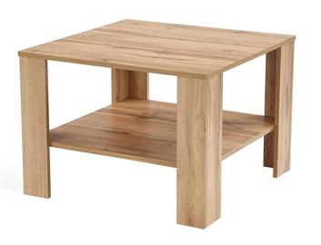 Kafijas galdiņš Halmar Kwadro Wotan Oak, 700x700x530 mm