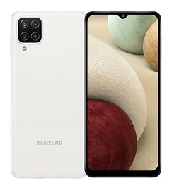 Mobilais telefons Samsung Galaxy A12, balta, 3GB/32GB
