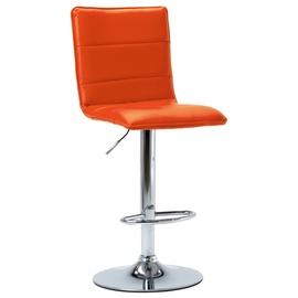 Bāra krēsls VLX Faux Leather 249627, oranža