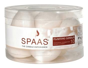 Свеча Spaas Floating Candles 4.6x1.8cm 10pcs White