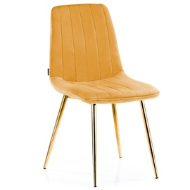 Homede Sarva Chairs 4pcs Mustard