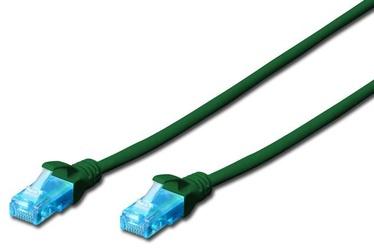 Digitus CAT 5e UTP Patc Cable Green 0.5m