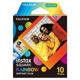 Foto lente Fujifilm Instax Square Rainbow, 10 gab.