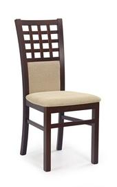 Ēdamistabas krēsls Halmar Gerard3 Dark Walnut/Torent Beige