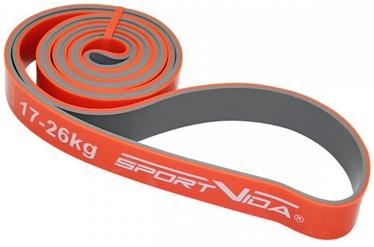 SportVida Fitness Rubber Power Band 2080x28x4.5mm Orange
