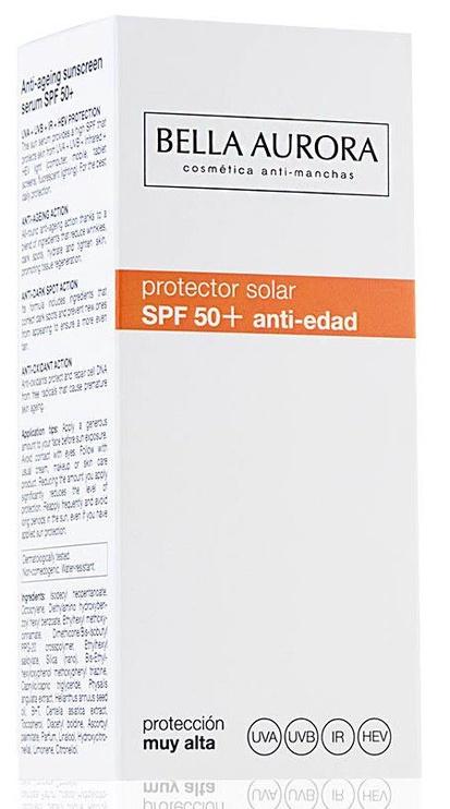 Bella Aurora Solar Serum SPF50+ Anti-Ageing 30ml