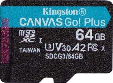 Kingston Canvas Go! Plus 64GB microSD UHS-I Class10