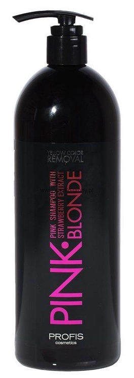 Profis Pink Blonde Shampoo With Strawberry Extract 1000ml