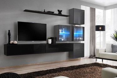 ASM Switch XIX Wall Unit Black/Graphite