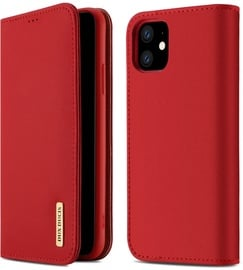 Dux Ducis Wish Bookcase For Apple iPhone 11 Red