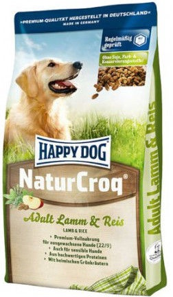 Happy Dog NaturCroq Adult Lamm & Reis 4kg