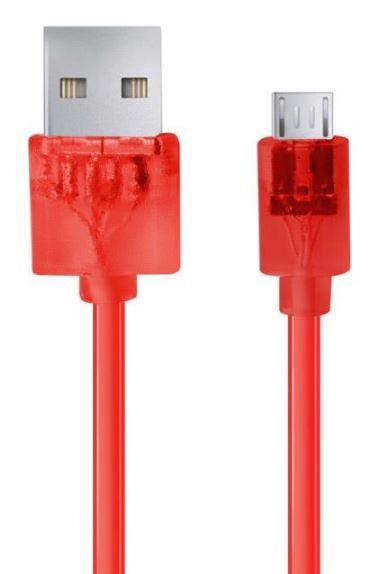 Esperanza Cable USB / USB - micro Red 1m