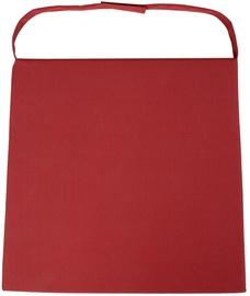Krēslu spilvens Home4you Wicker 2-3, sarkana, 46 x 48 cm