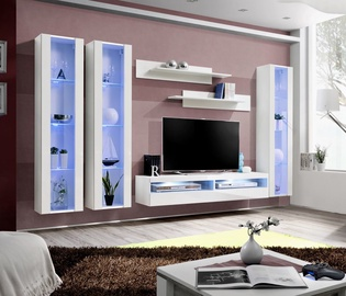 ASM Fly P12 Living Room Wall Unit Set White