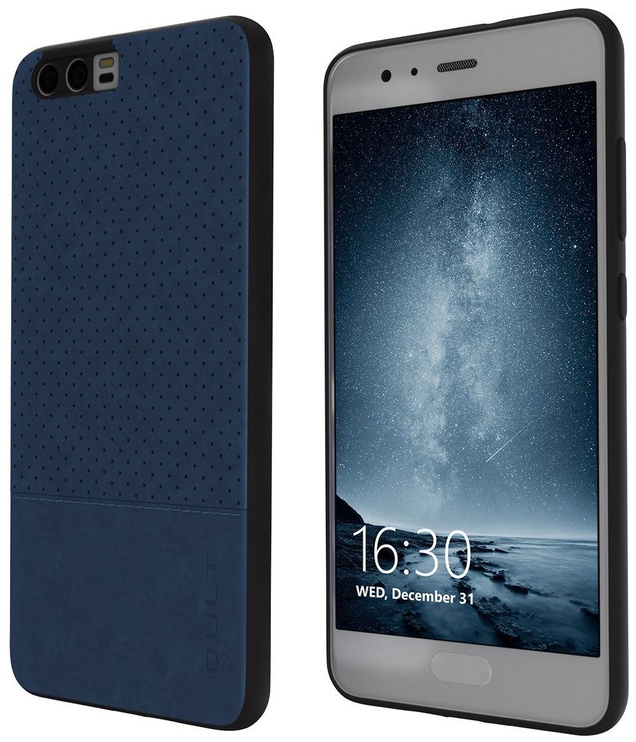 Qult Luxury Drop Back Case For Huawei P20 Blue