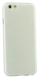 Forcell Jelly Brush Back Case For Samsung J100H Galaxy J1 White