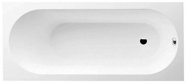 Villeroy & Boch Oberon Solo Bath with Legs White 180x80