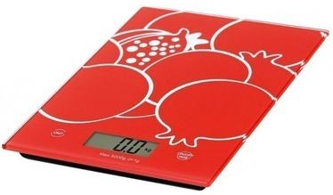 Omega OBSKR Kitchen Scale Red