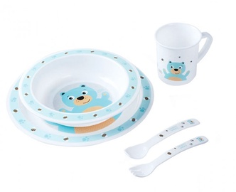 Canpol Babies Plastic Ware Set Cute Animals 4/401 Bear