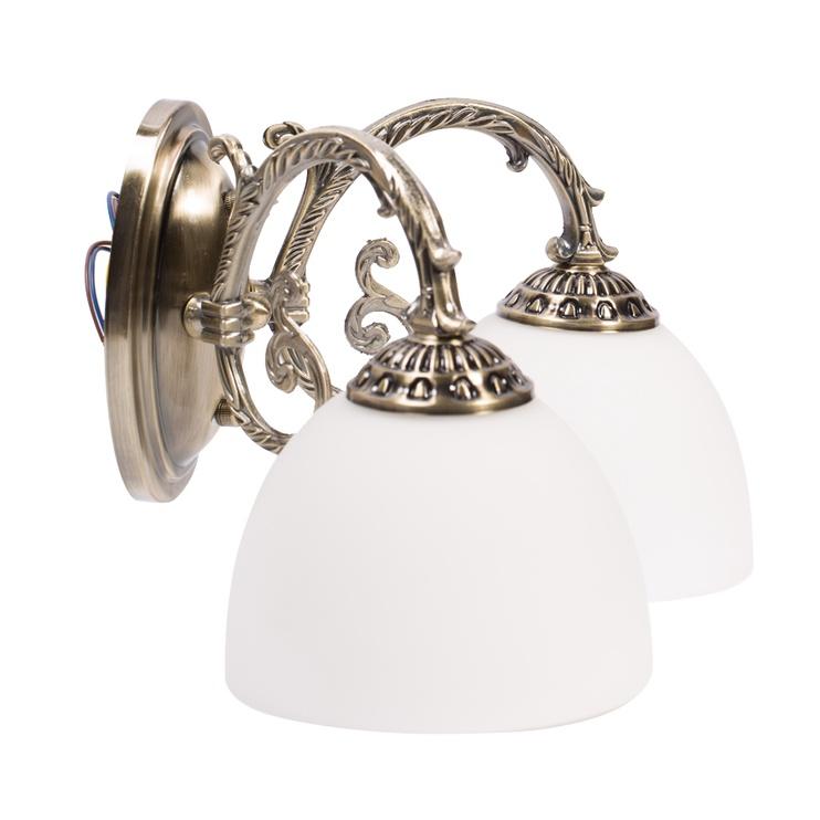Gaismeklis Domoletti MB6160-2 2X60W Brass