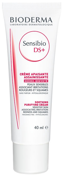 Sejas krēms Bioderma Sensibio DS+ Soothing Cream, 40 ml