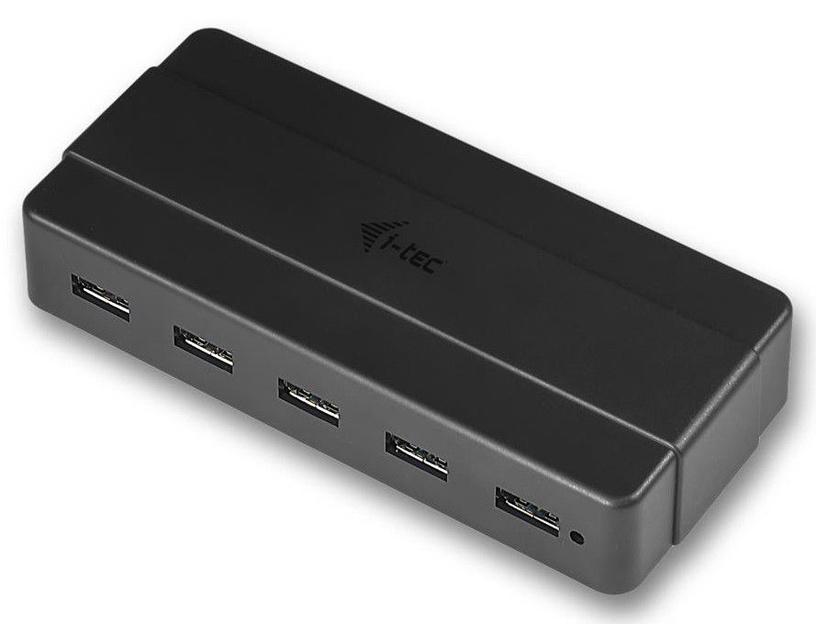 i-tec USB 3.0 Charging HUB 7 Ports w/Power Adapter