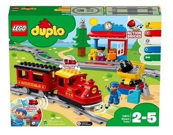 Конструктор LEGO Duplo Поезд на паровой тяге 10874, 59 шт.