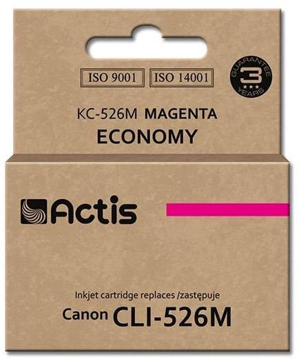 Actis KC-526 replacement for Canon CLI-526BK Magneta