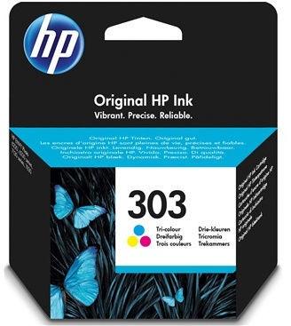 HP 303 Tri-Color Original Ink Cartridge Yellow/Magenta/Cyan