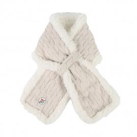 Šalle Lodger Empire Fleece, balta/bēša, Viens izmērs