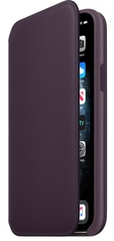 Apple iPhone 11 Pro Leather Folio Aubergine
