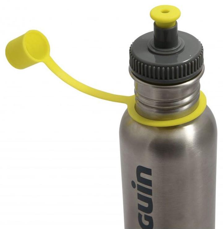 Pinguin Bottle L 1l Silver