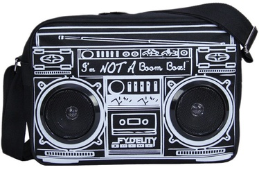 Fydelity Le Boombox Bag with Speakers Black