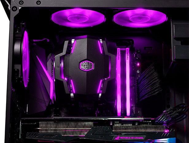 Cooler Master MasterAir MA610P w/ RGB Controller