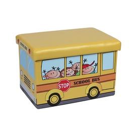 Pufs XYZ16004BE Schoolbus, 48 x 31.5 x 32 cm