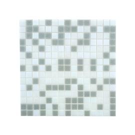 SN Glass Mosaic BTS101 327x327mm White/Grey