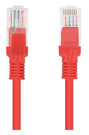 Lanberg Patch Cable UTP CAT 5e 15m Red
