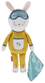 Плюшевая игрушка Fisher Price Hoppy Dreams, белый/желтый, 4509 см