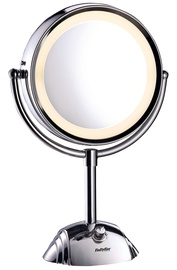 Kosmētiskais spogulis Babyliss Halo 8438E Chrome, ar gaismu, stāvošs, 20.5x44 cm