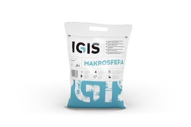 Шпаклевка Igis Makrosfera, готов к использованию, белый, 17 l