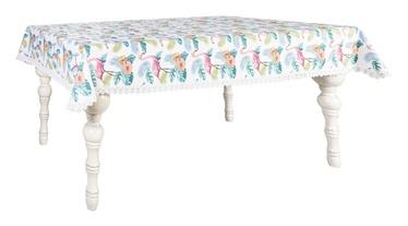 Home4you Wakiki Tablecloth 140x220cm Flamingo