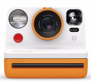 Polaroid Now Instant Camera Orange