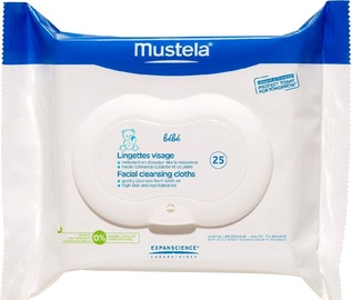 Mustela Facial Cleansing Wipes 25pcs i