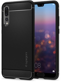 Spigen Rugged Armor Back Case For Huawei P20 Pro Black